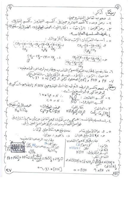مراجعة ليلة الامتحان فى مادة الكيمياء للثانوية العامة exam-eg.com_13381213