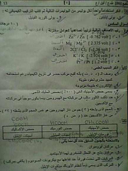 ورقة اسئلة امتحان الكيمياء 2013 للثانوية العامة exam-eg.com_13721643